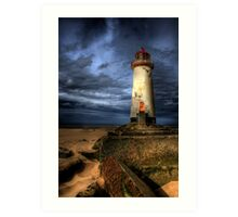 The Abandoned Lighthouse Art Print