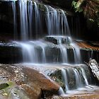 Somersby Falls 5 by Dean Perkins