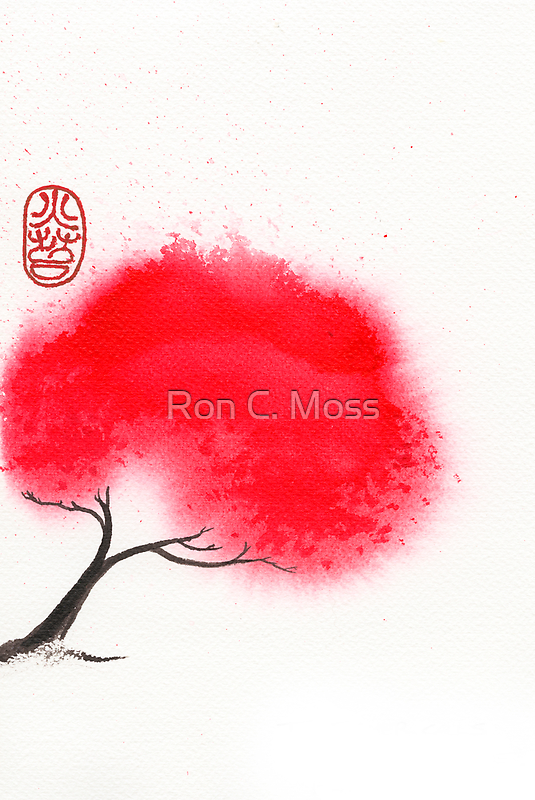 Flame Tree by Ron C. Moss