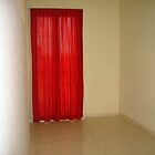 Red Curtain by Sanjam's Eye