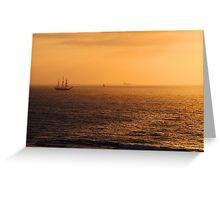 Tall Ship Leeuwin II - Western Australia  Greeting Card