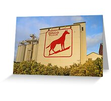 Dingo Flour Mill  Greeting Card