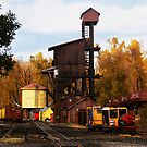 Chama Railyard (2) by Paul Albert