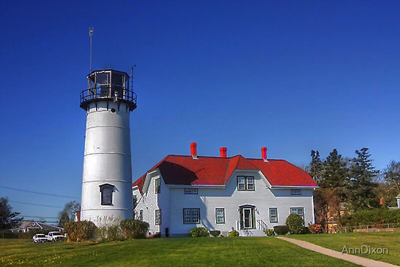 """""""Chatham Lighthouse, Cape Cod, USA - HDR"""" by AnnDixon ..."""