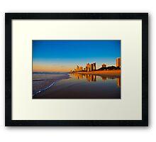 Gold Coast Sunrise Framed Print