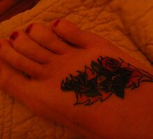 New Tatt by Cathy Cale