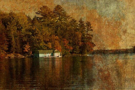Muskoka Boat House by Steve Silverman