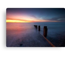 Life's A Beach Canvas Print