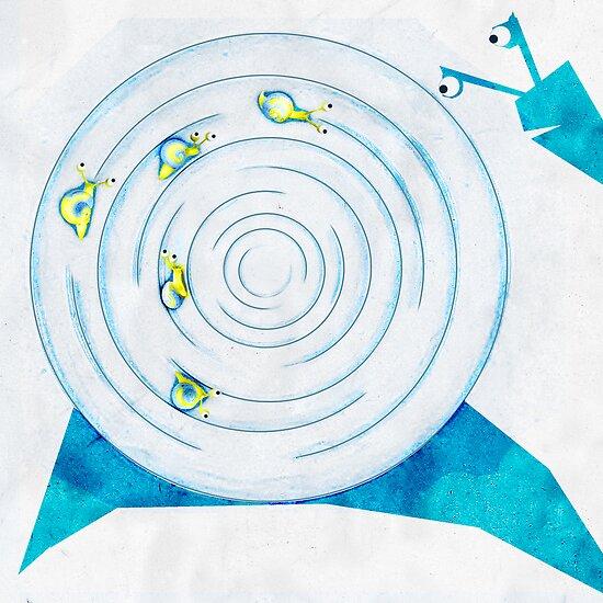 The labirinth snail by Alexandra Muresan