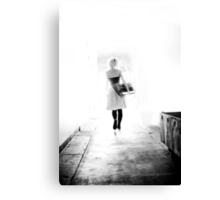 Kate into the light (limited edition of 50) Canvas Print