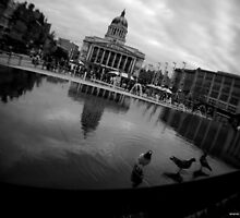 Nottingham Market Square by sbland