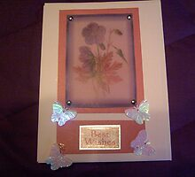 Using vellum - handmade card by anaisnais