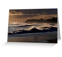Whitby Seascape Greeting Card