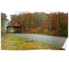 Catoosa Ridge covered bridge Poster
