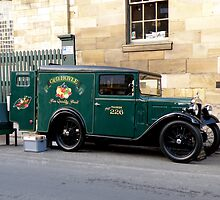 Austin 7 Van by Edward Denyer