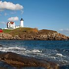 Cape Neddeck  (The Nubble Light) by Jeff Palm Photography