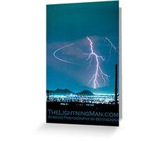 Bo Trek Lightning Strike Poster Greeting Card