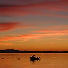 Savary Sunset by Martin Smart