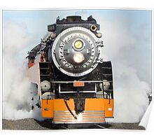 American Freedom Train Locomotive #4449 Poster