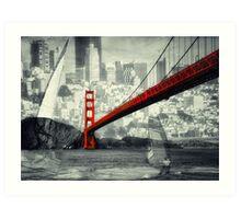 Essence of San Francisco Art Print