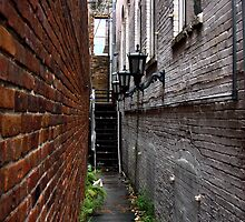 Ybor City Alley by Sherry  Williamson