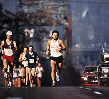 Runners by Larry  Grayam