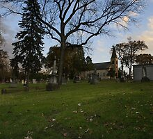 Ghost Story # 4 - St. James-Sag Cemetery by Adam Bykowski