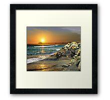 Loved by the Sun (Art & Poetry) Framed Print