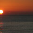 Sunrise over Eastbourne. by Kathie  Thomson
