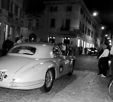 Classic cars in town by Valeria Palombo