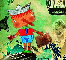 Pinocho by sandradebedout