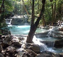 Thai Paradise - Eriwan Falls National Park, Thailand by Mouldy67