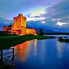 Ross Castle at Night by John Walsh, IRELAND