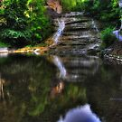 Ithaca's Buttermilk falls XII HDR by PJS15204