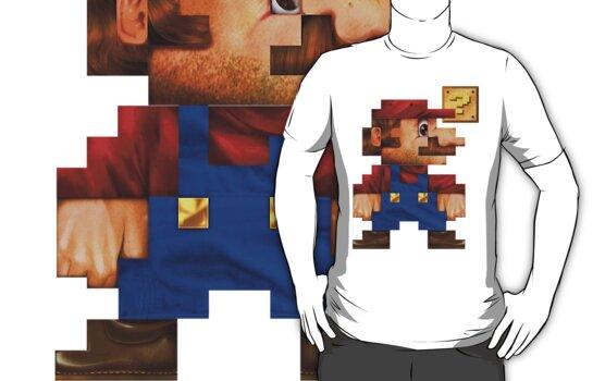 8-Bit Mario Realistic by jimiyo