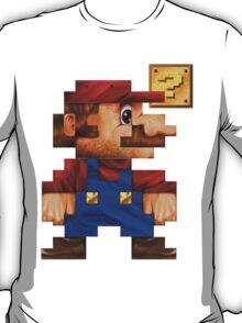 8-Bit Mario Realistic T-Shirt