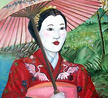 Geisha Doll by DarkRubyMoon