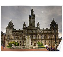 Glasgow City Chambers Poster