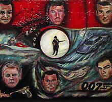 The Many Faces of Bond...James Bond by Regina Brandt