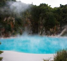Inferno Lake - Waimangu Thermal Valley by MalD