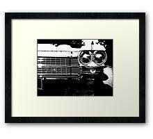 Anti-Chromatic Framed Print