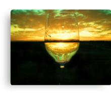 Wine Inversion Canvas Print