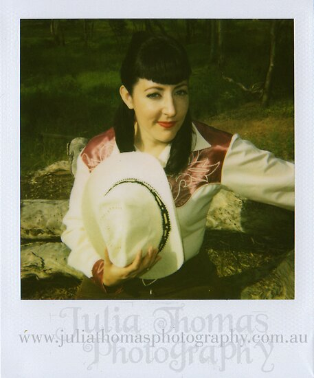 Gemma Vendetta Goes Country polaroid #1 by Julia  Thomas