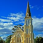 Evandale church Tasmania by UncaDeej