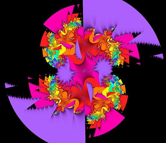 Fractal Fantasia by bevanimage