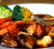 English Sunday Roast by Lynn Ede