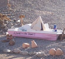 Why Boat in the Desert? by philld14