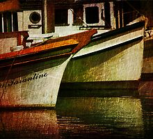 Down Time at the Docks by pat gamwell