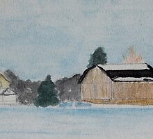 Country Watercolor 2 by Rebecca Skeels