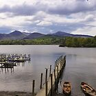 Derwent Water - late in the day by Phil Parkin